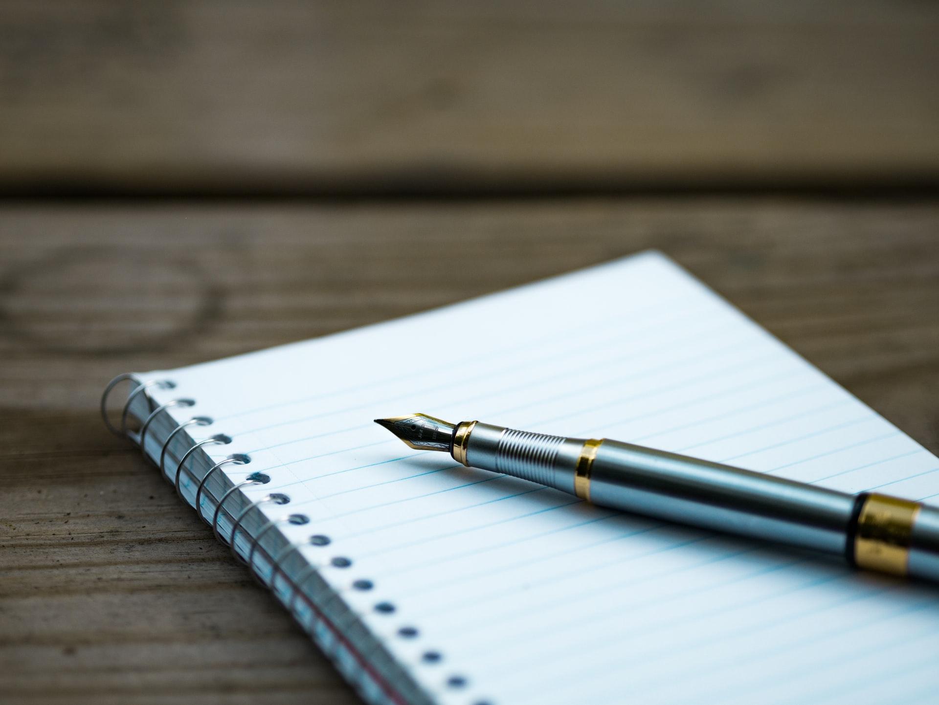 Een pen voor eigen gebruik